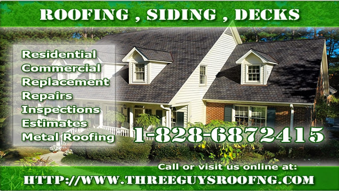 Three Guys Roofing