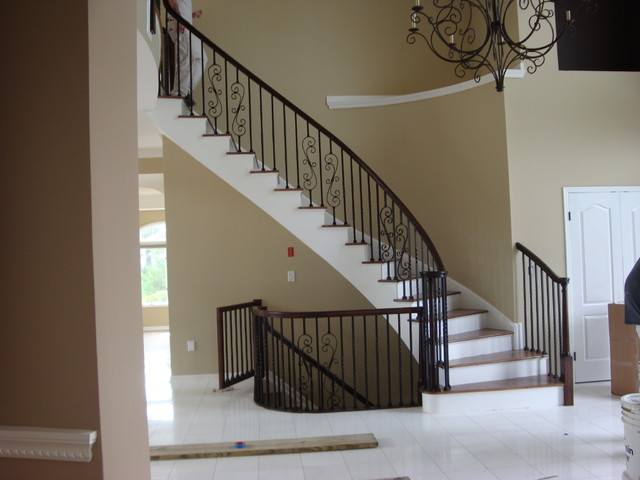 Merveilleux Mikeu0027s Custom Stairs, Railings And Trim   Stair Contractor   Palos Park, IL  60464