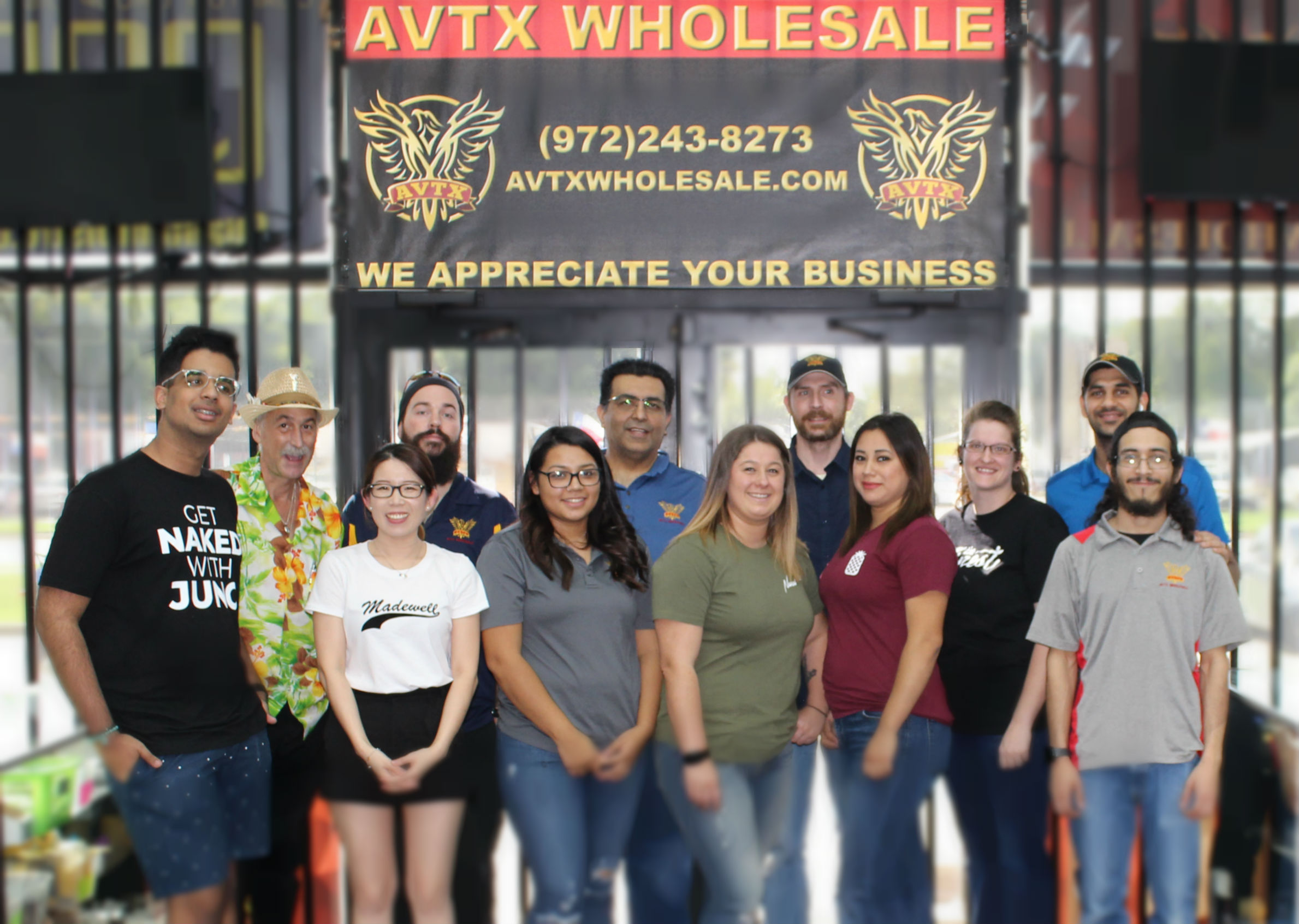 AVTX Wholesale B2B only wholesaler of Vape Supply - Meet Our Friendly Staff
